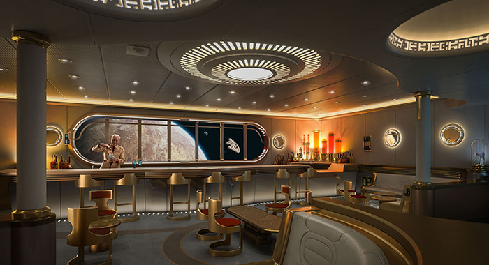 Star Wars: Hyperspace Lounge