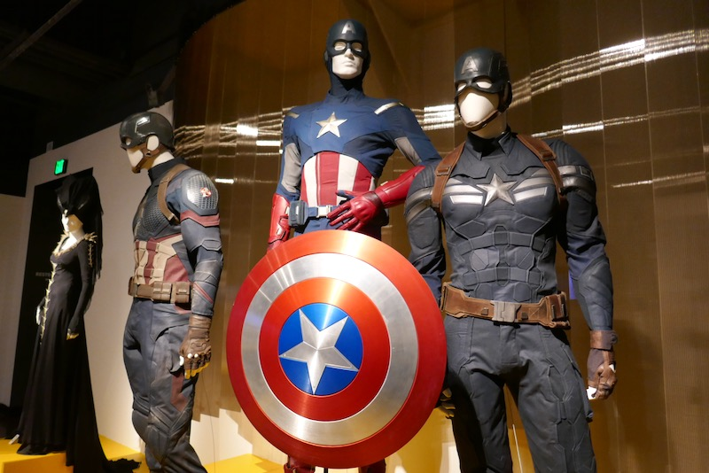 Captain America film costumes Avengers Endgame