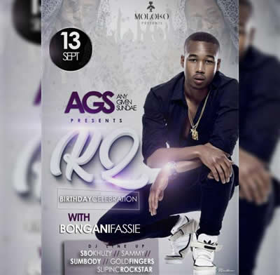 K2 Katlego Mabusela Birthday Bash In Moloko