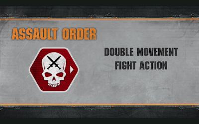 Assault Order Warhammer 40,000 Apocalypse-