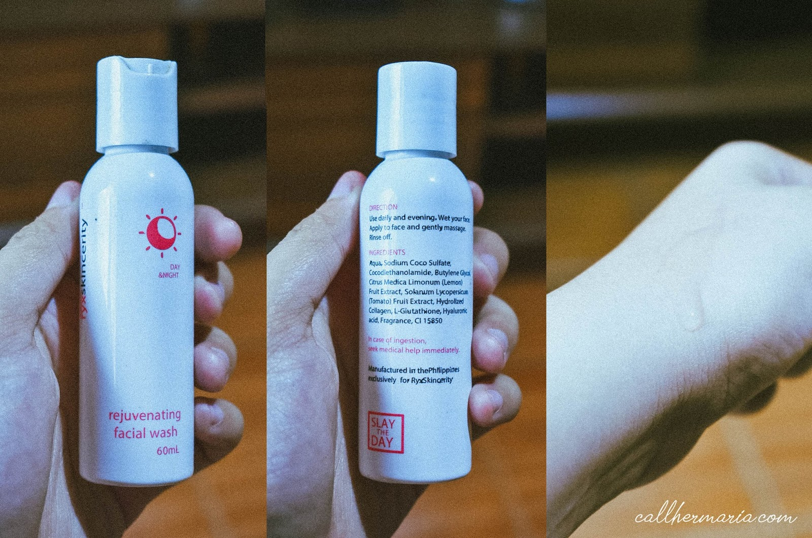 Ryx Skincerity Rejuvinating Facial Wash Review