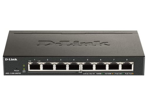 D-Link DGS-1100-08PV2 Ethernet Switch