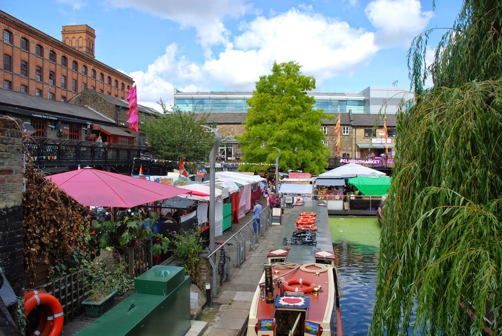 Camden Lock,Regent's Canal, London