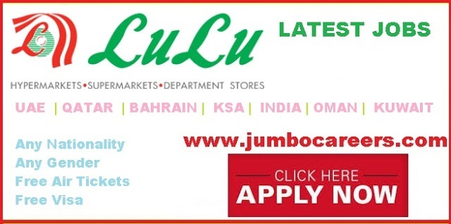 Lulu Hypermarket Latest Recruitment Jobs 2020 with Free Visa & Air Tickets