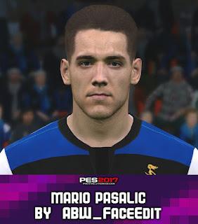 PES 2017 Faces Mario Pasalic by ABW