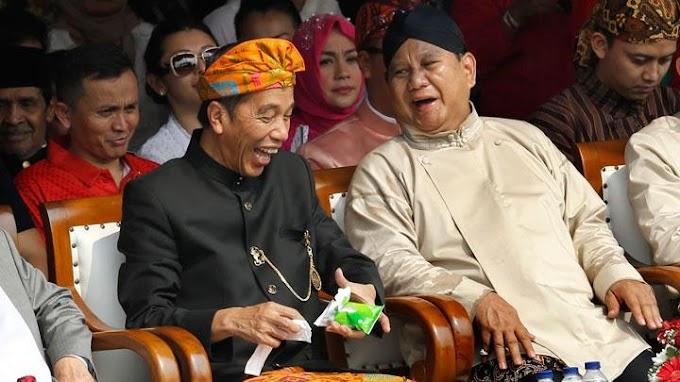 Cuman Selisih Empat Persen Suara Prabowi Jokowi