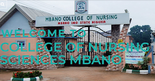 Mbano School of Nursing 37th Matriculation Ceremony Date 2020