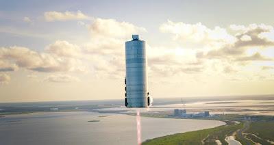 مركبة SpaceX الفضائية Starship SN-5