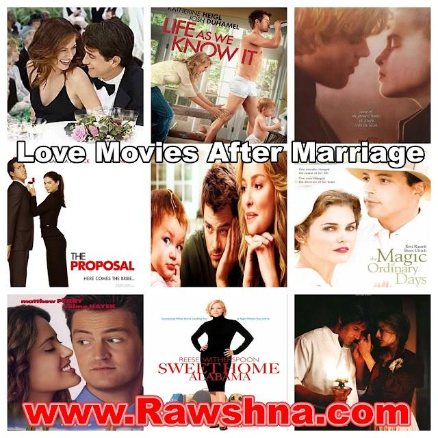 افضل افلام الحب بعد الزواج على الإطلاق