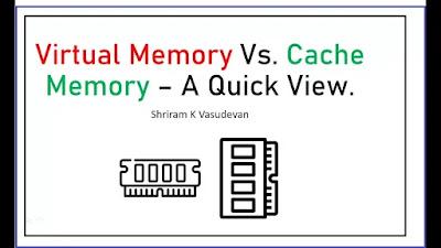 Perbedaan Penting Antara Virtual memory dan Cache memory