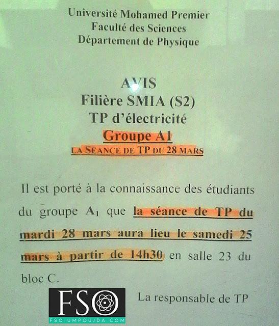 """SMIA S2 : TP """"Électricité A"""" - Groupe A1"""
