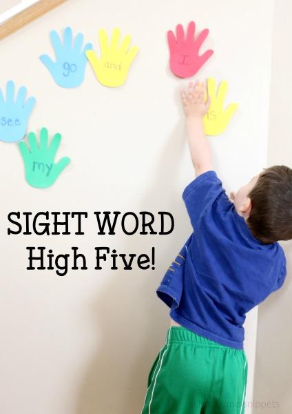 fun sight words game