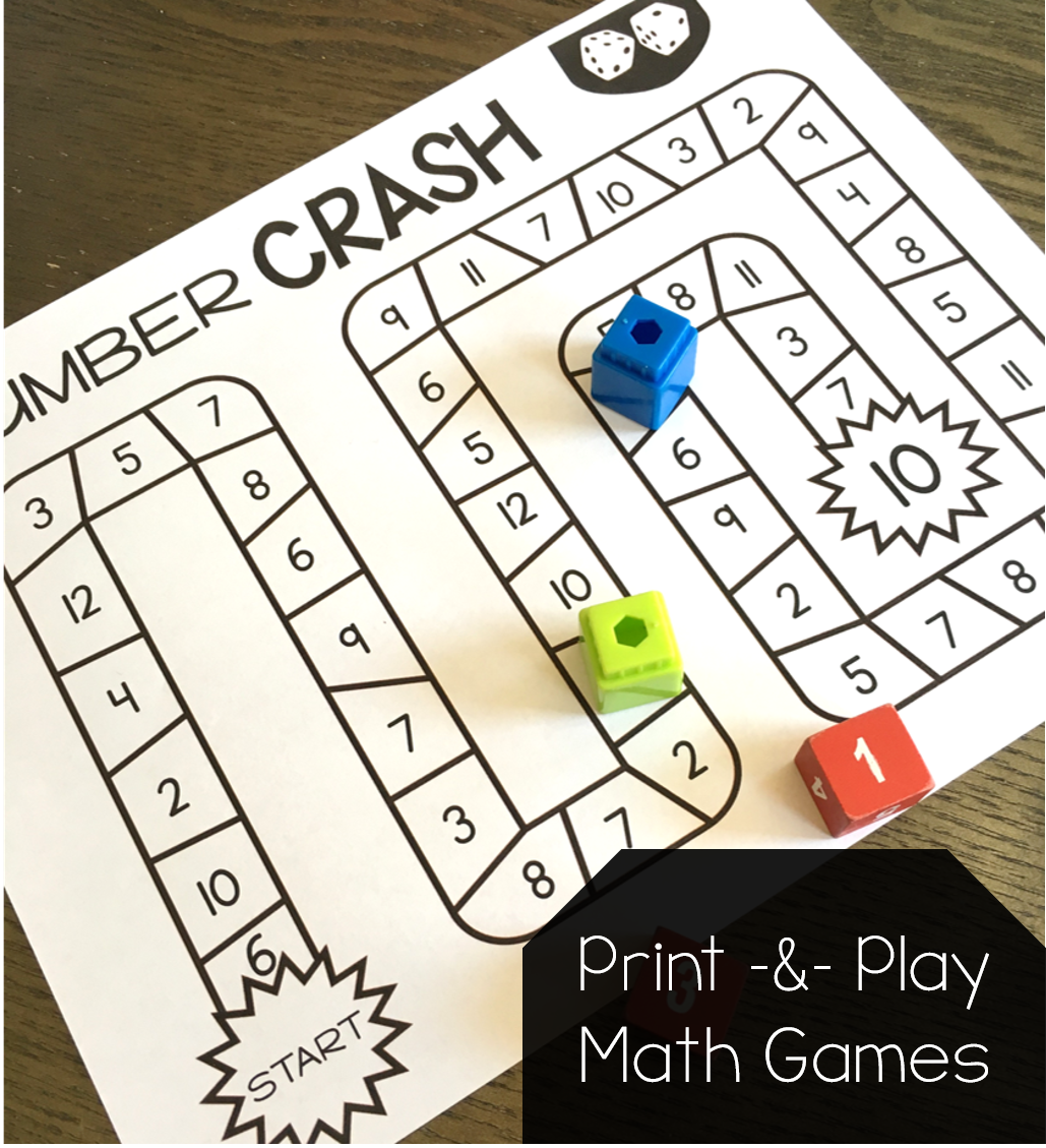 Print And Play Math Games