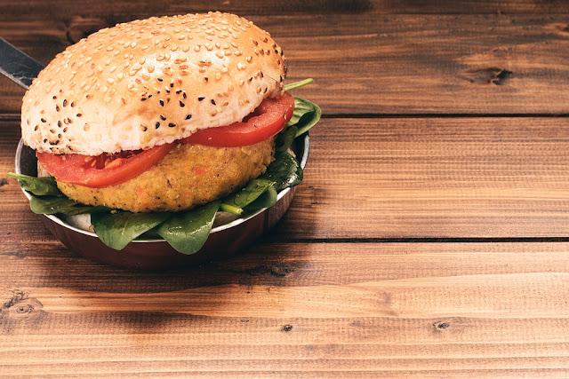 Quinoa hamburger