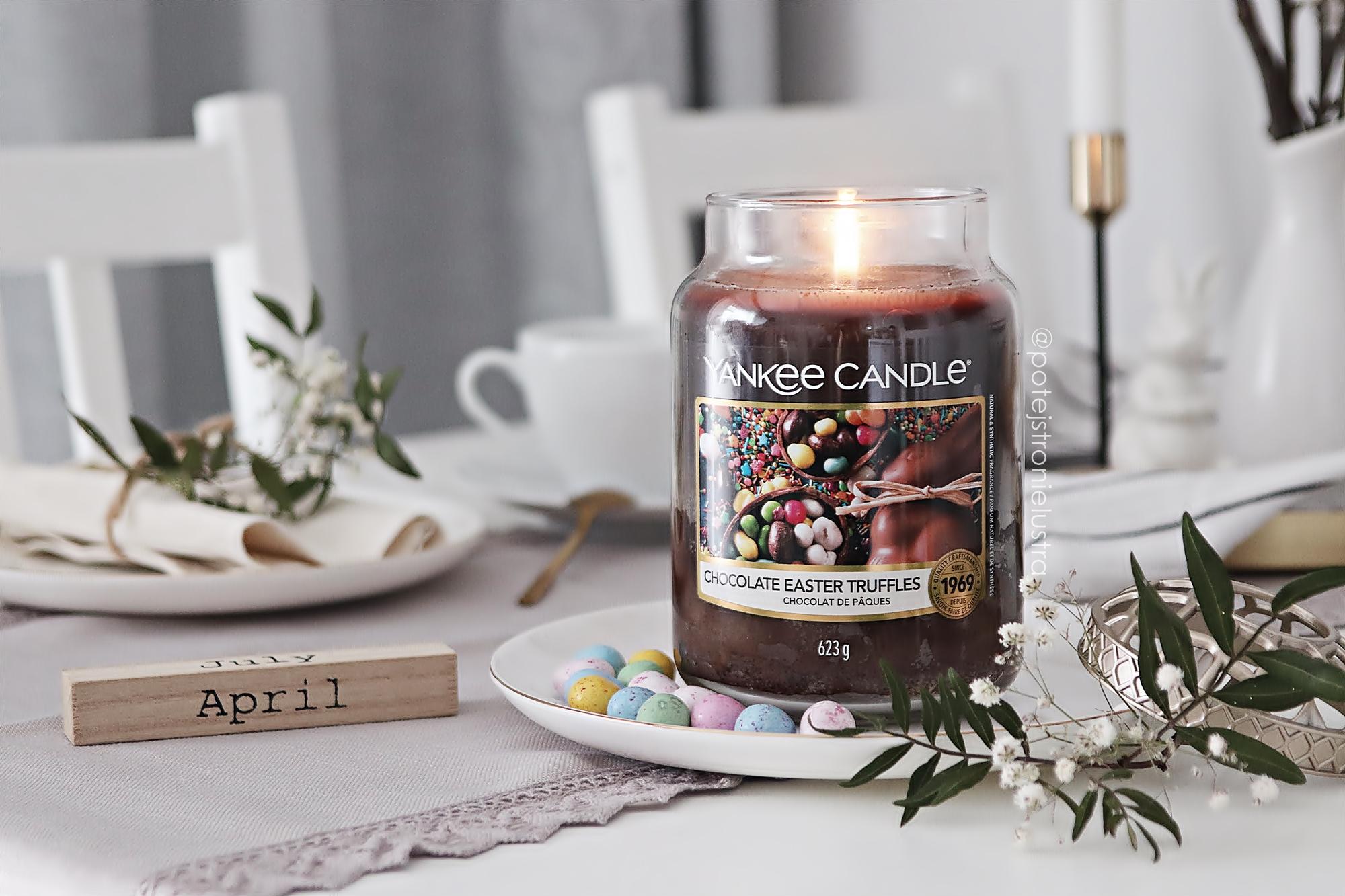 Chocolate Easter Truffles - limitowany zapach Yankee Candle na Wielkanoc 2021