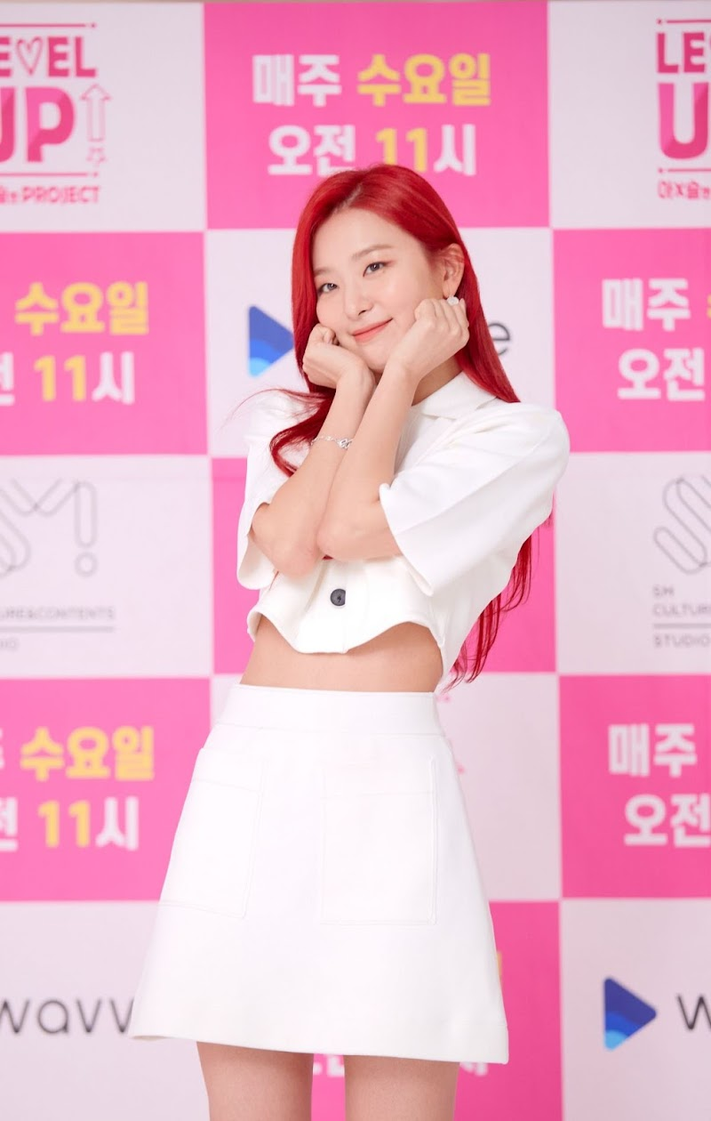 Red Velvet's SEULGI, IRENE at Level Up! Thrilling Project Press Conference 9 Jul -2020