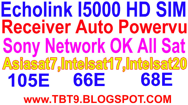 Ajj Men Apke Sath Ecolink, I 5000 Hd Receiver Auto Roll Powervu Ok Software USB Se. 3/20/2019 Echolink I 5000 HD, Sim Receiver, Auto Roll Powervu Key OK New Software.