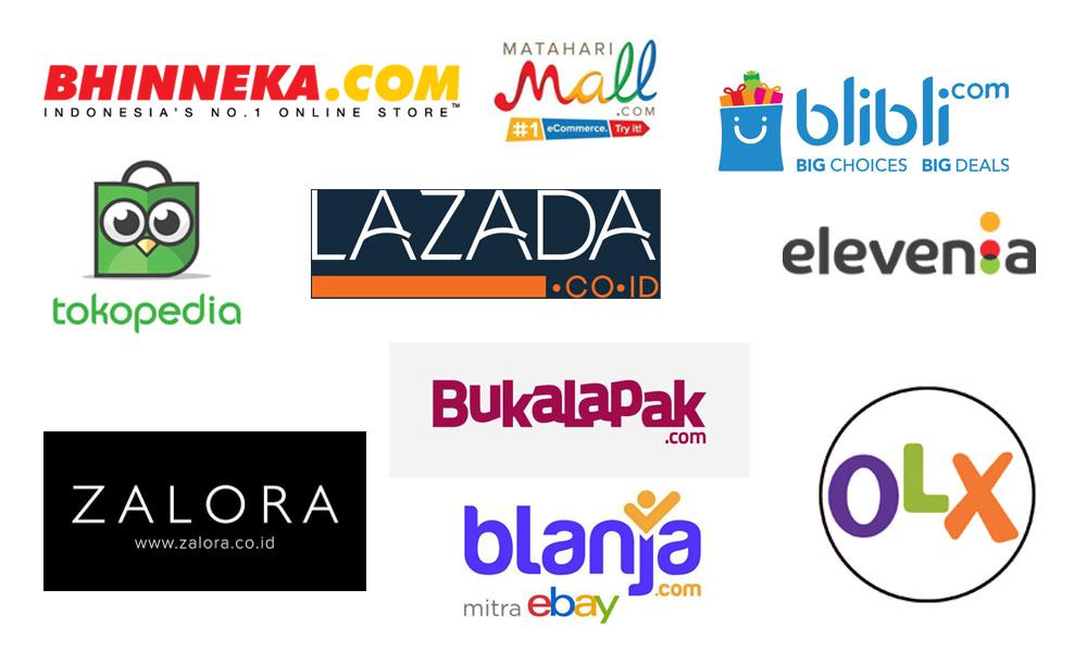 17 Toko Online Terpercaya,Terbaik dan Terpopuler di Indonesia -Muitond