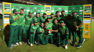 Pakistan tour of South Africa 3-Match ODI Series 2021