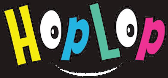 HopLop'in mainoskuva logosta.