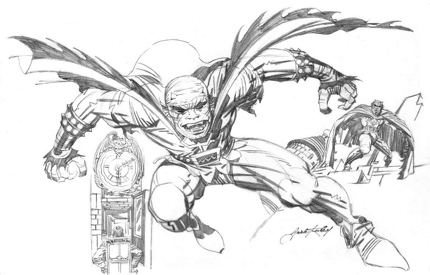 Cap'n's Comics: The Beginnings Of The Demon by Jack Kirby