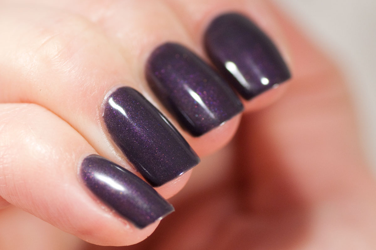 Pink Gellac Devotion Collection swatches - 313 Epic Purple