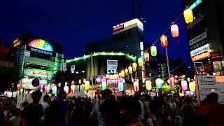 納涼盆踊り大会 千葉県市川市 夏祭り