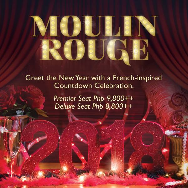 New Year with Moulin Rouge at the Makati Shangri-La
