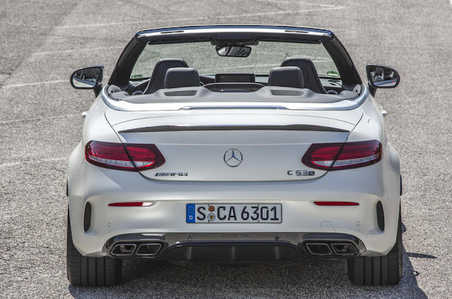 2016 Mercedes-AMG C 63 S Cabriolet