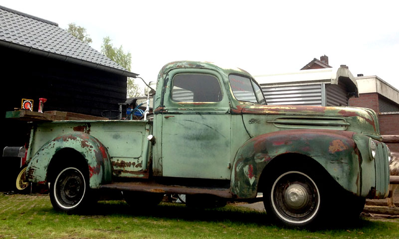 1941 Chevy Truck Patina