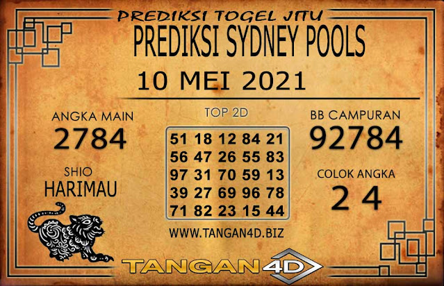 PREDIKSI TOGEL SYDNEY TANGAN4D 10 MEI 2021