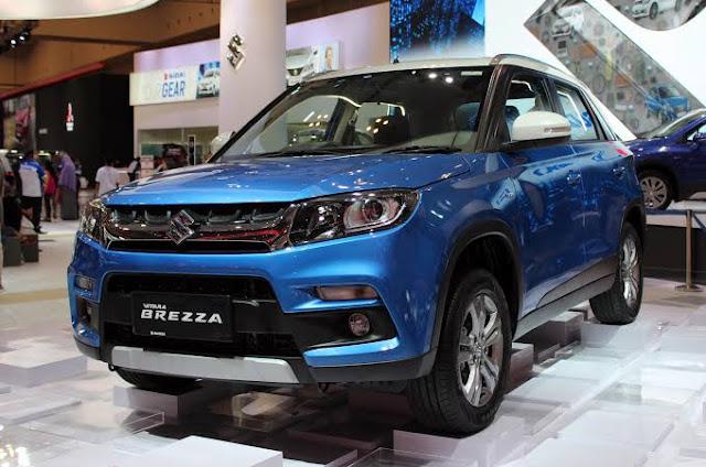 Maruti Suzuki Vitara Brezza facelift spied testing