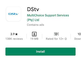 Dstv now app install