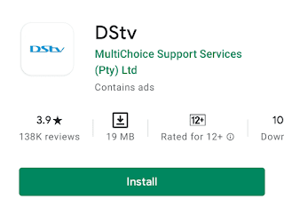Installing Dstv now app