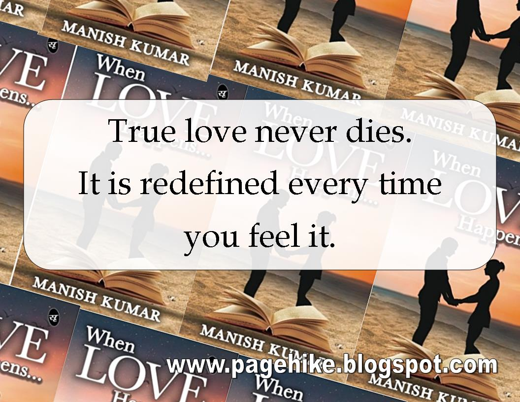 When Love Happens by Manish Kumar Book Review