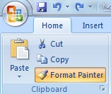 What is Format Painter in Ms Excel in Hindi