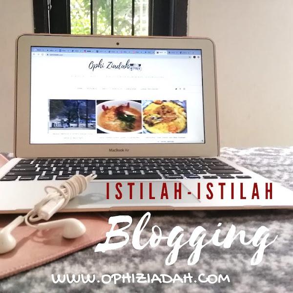 Istilah-istilah dalam Blogging  (Untuk Pemula)