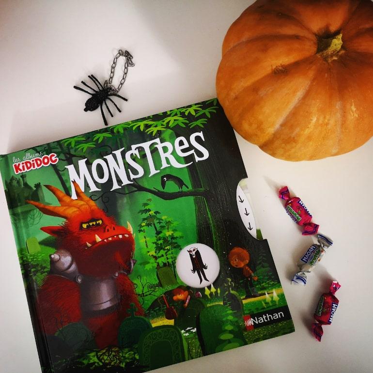 Livre enfant monstres Halloween