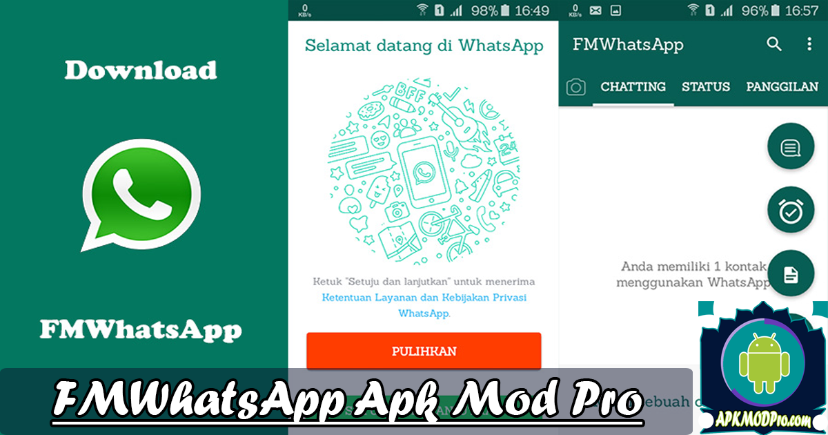 Download FMWhatsapp v8.12 MOD APK Latest Version (Anti-Ban) Terbaru 2020