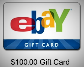Get a $100 Ebay Giftcard!