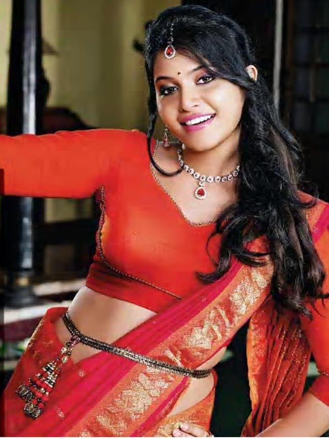 Anjali Hot navel showing Images