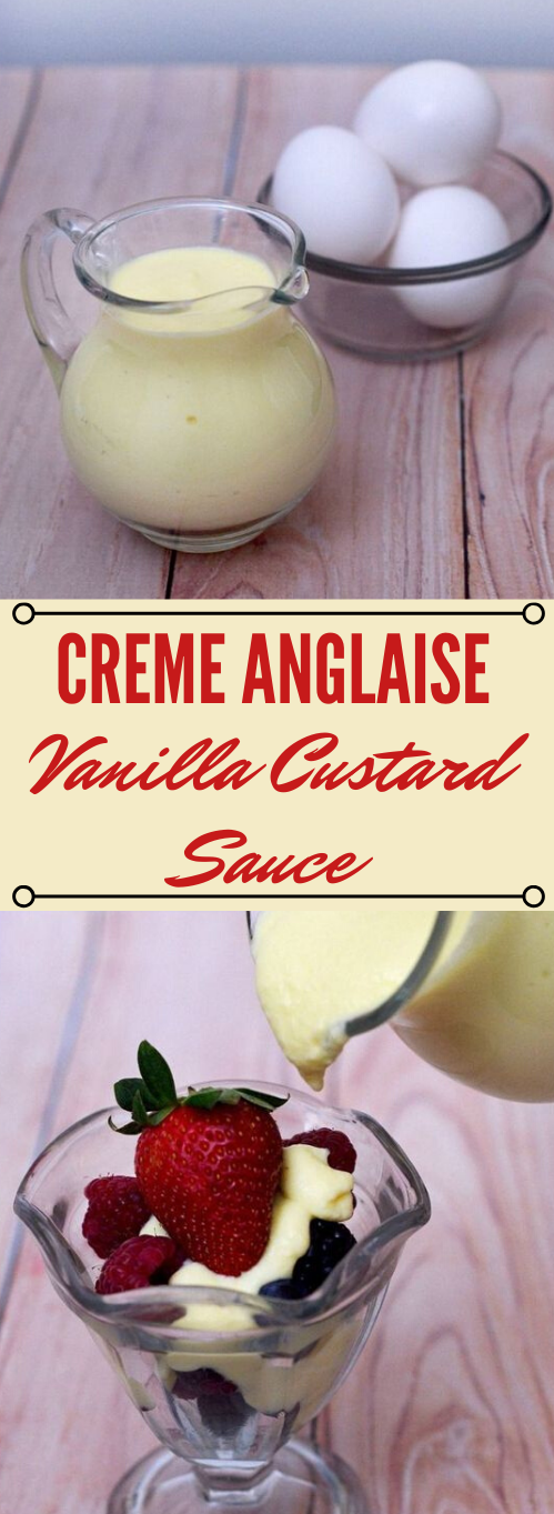 CREME ANGLAISE #healthydiet #creamy #sugar #paleo #easy