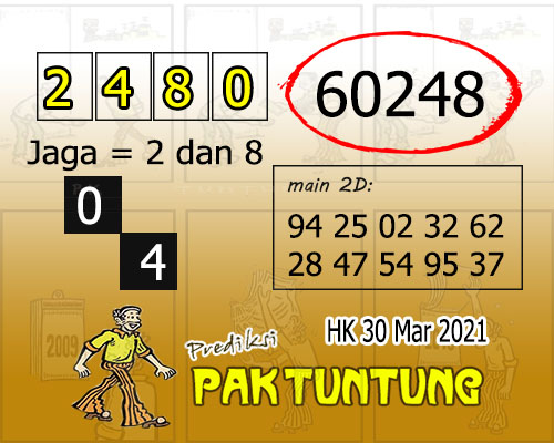Syair HK Selasa 30 Maret 2021 -