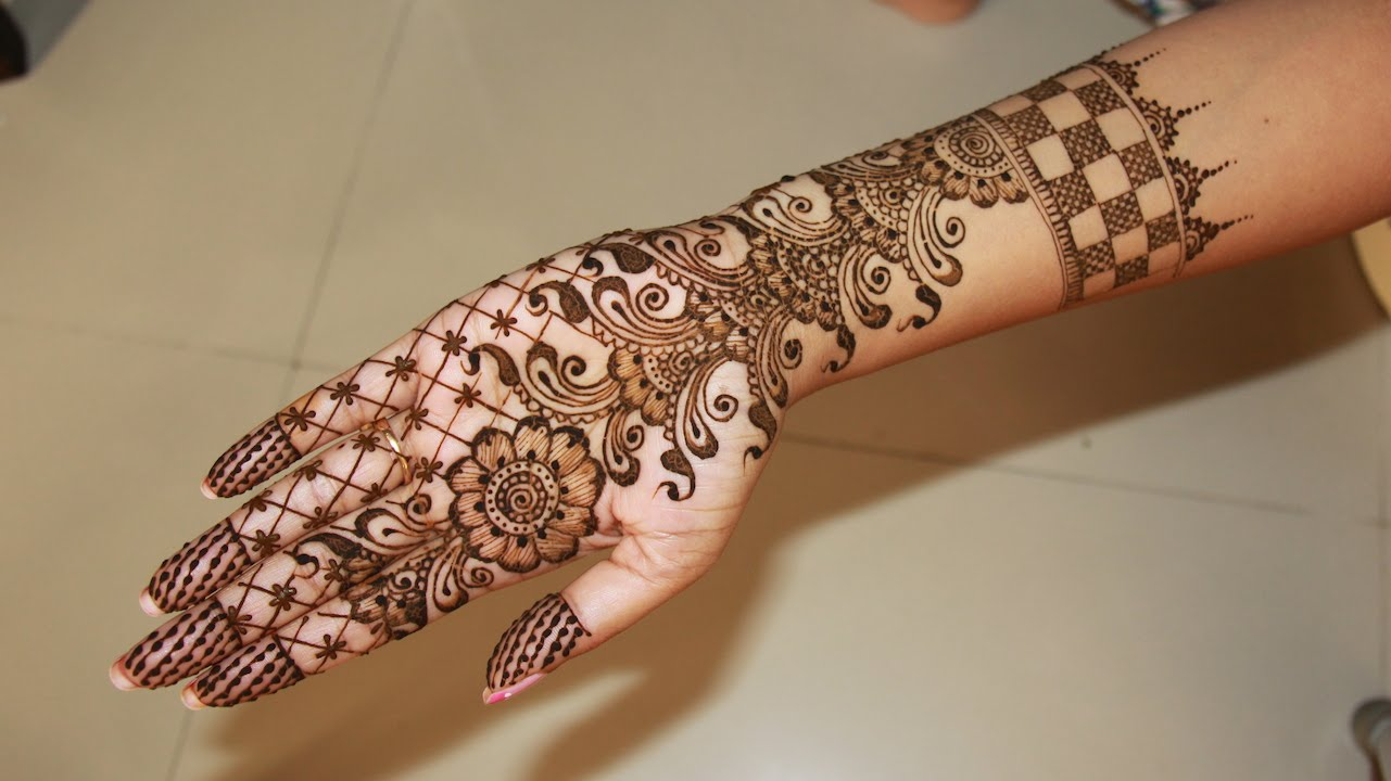 The best mehndi designs for hands livinghours - Arabic Mehndi Designs Living Hours