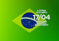 capa impeachment bandeira do Brasil, para Puls Google, Twitter ou Face
