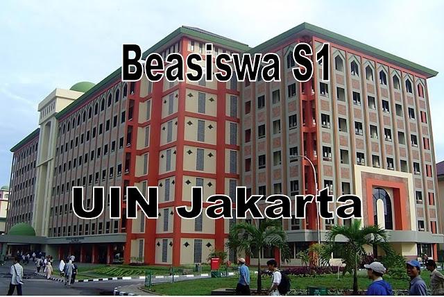 Beasiswa S1 UIN Jakarta 2020