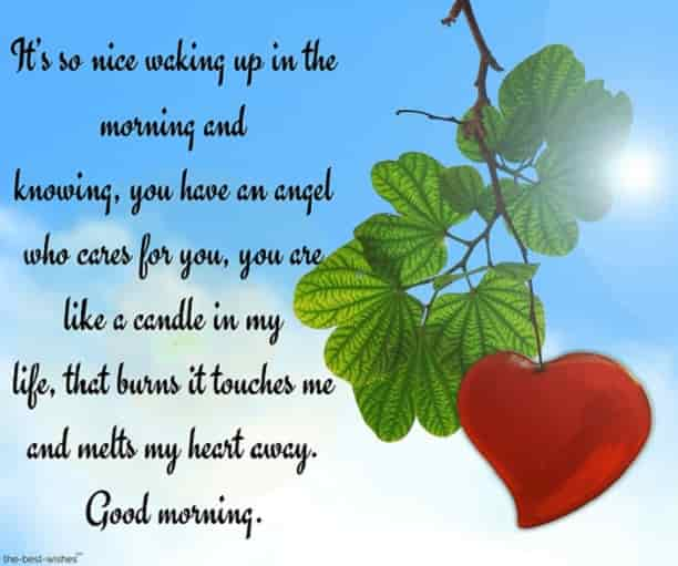 good morning love letters to your wife with heart