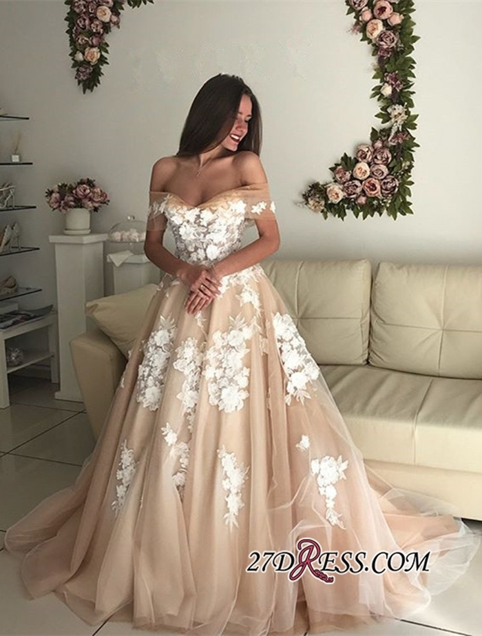 https://www.27dress.com/p/elegant-off-the-shoulder-long-tulle-lace-up-bridal-gowns-109298.html