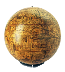 Gemma Frisius Terrestrial Globe