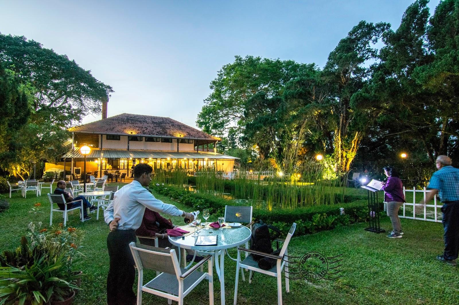 David brown 39 s restaurant tea terrace penang hill air itam for Terrace 9 penang